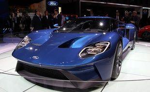 La Ford GT au salon de Genève 2015