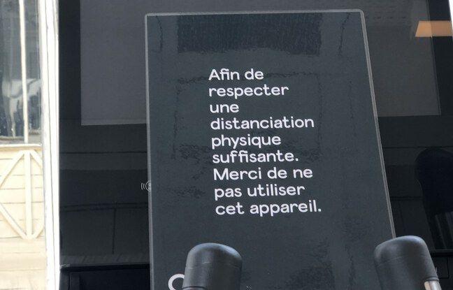 Une consigne de sécurité dans une des salles de La Montgolfière.