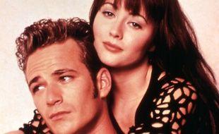 Shannen Doherty et Luke Perry sont les héros de la série culte «Beverly Hills 90210» dans les années 1990.