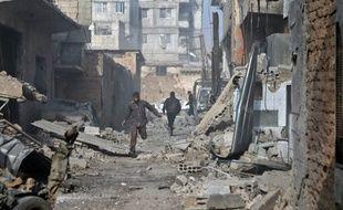 La Ghouta orientale, en Syrie.