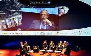 Patrick Boissier, PDG de la DCNS (Direction des constructions navales du ministère de la Défense), le 30 novembre 2010 à Toulon.