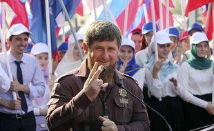 Ramzan Kadyrov à Grozny, le 11 août 2016.