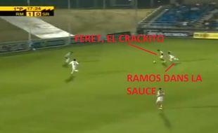 Féret VS Ramos, duel de légendes