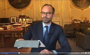 Le Premier ministre Edouard Philippe.
