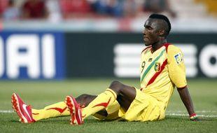 L'attaquant Adama Niane sous le maillot du Mali (U20).