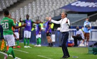 Claude Puel et les Verts ont vu leur match face à l'OM reporté pour l'ouverture de la L1.