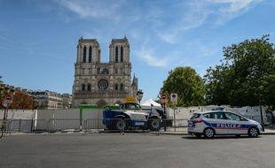 La cathédrale de Notre-Dame-de-Paris le 25 août 2019.