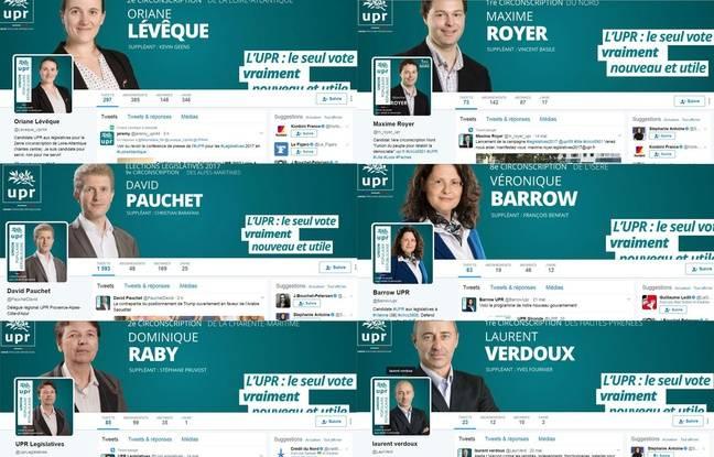 Vous n'avez pas la berlue, les candidats UPR aux législatives sont très présents sur Twitter. Ils sont 574 investis par le parti de François Asselineau.
