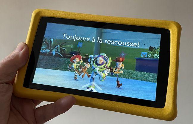 La Kids Tablet: une ardoise numérique à écran de 7 pouces.