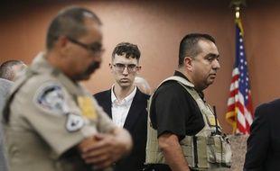 L'auteur présumé de la tuerie d'El Paso, Patrick Crusius, au tribunal, le 10 octobre 2019.
