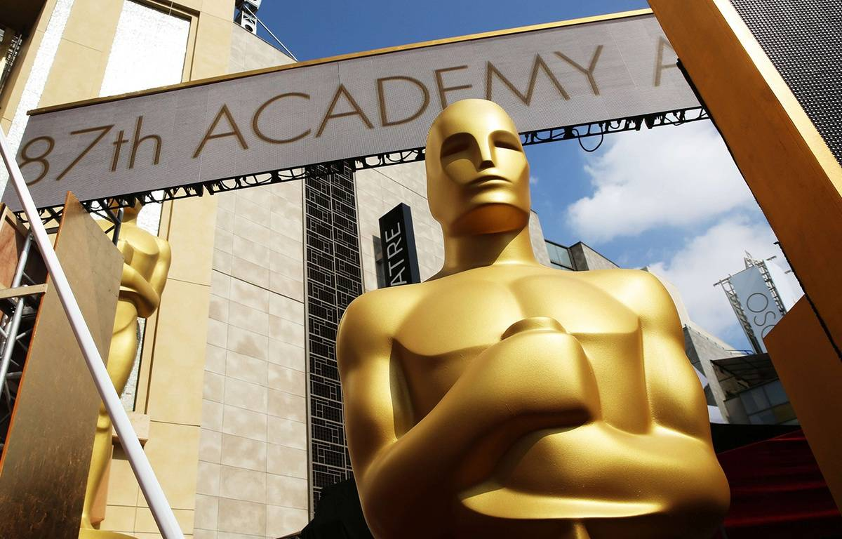Une statue des Oscars. – Matt Sayles/AP/SIPA