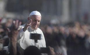 Le pape François lors du Jubilé de la miséricorde au Vatican le 20 novembre 2016