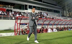 Le nouvel entraîneur du Stade Rennais, Sabri Lamouchi.