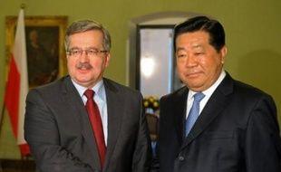 La Pologne et la Chine ont signé mercredi une déclaration de coopération économique à l'occasion de la visite à Varsovie de Jia Qinglin, président du Comité national de la Conférence consultative politique du peuple chinois (CCPPC).