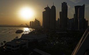 Doha, capitale du Qatar, le 7 février 2015.