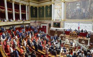 L'Assemblée nationale le 3 juillet 2018.