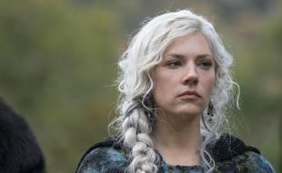 Katheryn Winnick dans la cinquième saison de la série «Vikings».