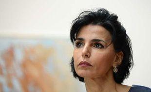 Rachida Dati, député européenne et candidate UMP aux élections européennes en Ile-de-France.