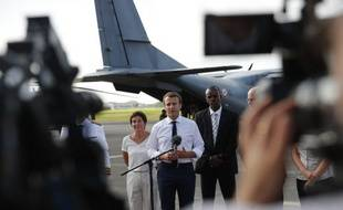 Emmanuel Macron a assuré mardi depuis Pointe-à-Pitre, face aux critiques sur la réaction de l'exécutif, que le gouvernement avait «répondu plusieurs jours avant» l'ouragan Irma.