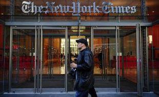 Le siège du New York Times à New York, le 8 mars 2011