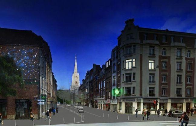 Lille: La rénovation de la rue Pierre-Mauroy commence lundi