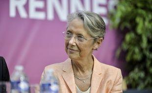 La ministre des Transports Elisabeth Borne, le 3 juillet 2019 à Rennes.