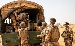 Des soldats de l'opération Barkhane à Gossi, dans le nord du Mali, en avril dernier (illustration).
