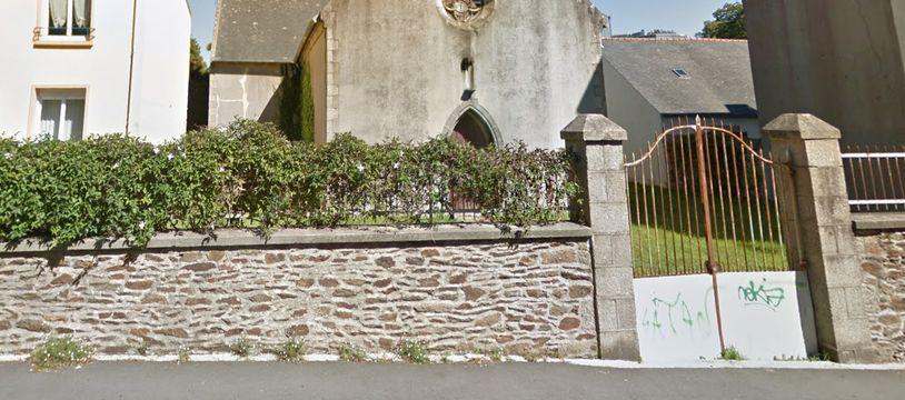 Propriété de la ville de Brest, la chapelle est désacralisée depuis plusieurs années.