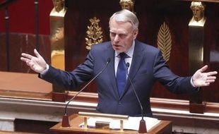 Jean-Marc Ayrault lors de son discours de politique générale à l'Assemblée nationale, le 3 juillet 2012.
