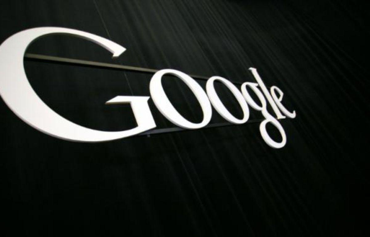 Le logo de Google – Kimihiro Hoshino AFP