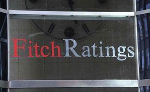 Le siège de l'agence de notation Fitch à New York, le 9 octobre 2011.