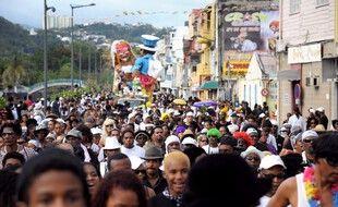 Lors d'une précédente édition du carnaval, à Fort-de-France. (archives)