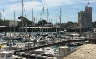 L'accident a eu lieu sur le vieux port de La Rochelle.