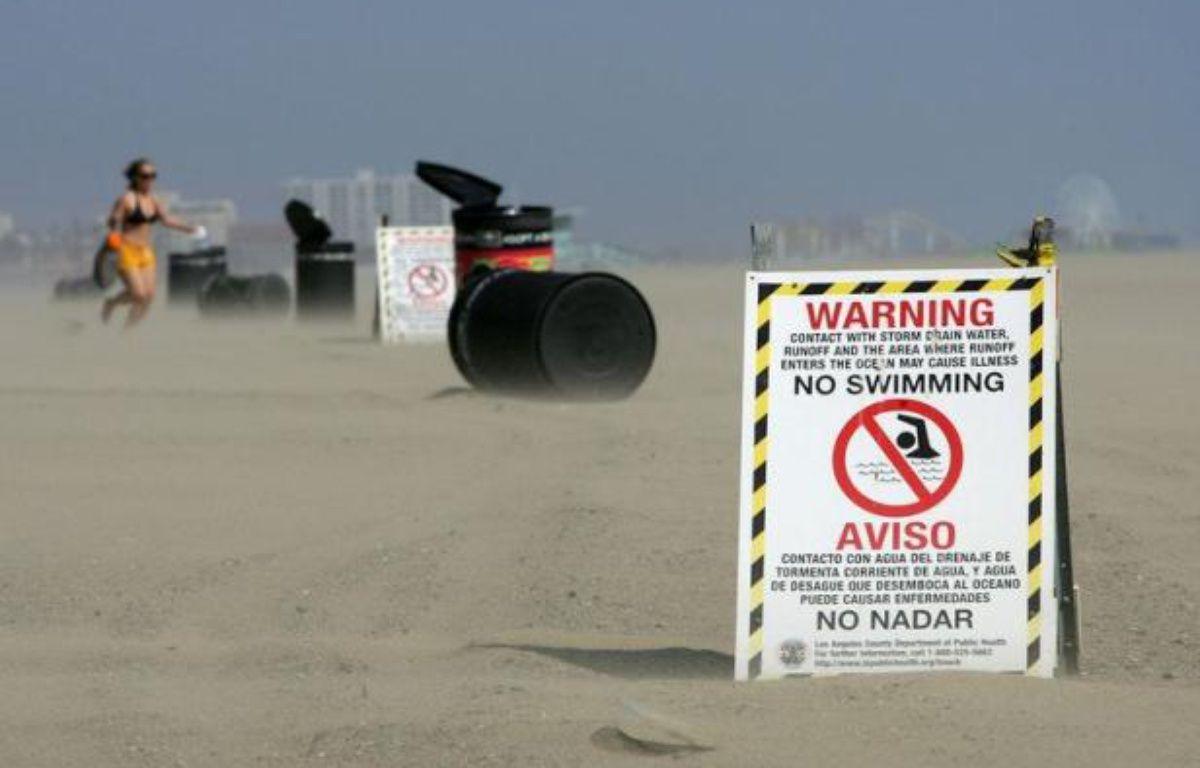 La qualité de l'eau de baignade laisse à désirer sur les plages américaines, où près de 3,5 millions de personnes contractent chaque année une maladie du fait de la pollution, a révélé mercredi une organisation écologiste. – David Mcnew afp.com