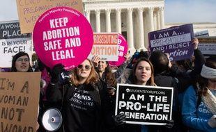 La bataille pour l'avortement va faire à nouveau rage aux Etats-Unis (archives).