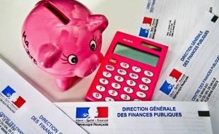 Illustration impôts, fiscalité.