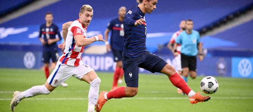 Antoine Griezmann a renoué avec le but face à la Croatie.
