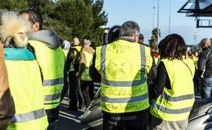 Manifestation des gilets jaunes (illustration)