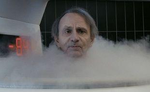 Michel Houellebecq dans «Thalasso», de Guillaume Nicloux