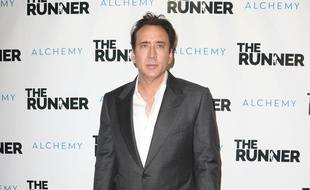 Nicolas Cage à l'avant-première de The Runner à Hollywood