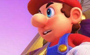 On découvre Mario sans sa moustache grâce ou à cause d'un mod sur Super Mario Odyssey.