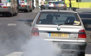 Pollution urabine : les gaz d'échappement