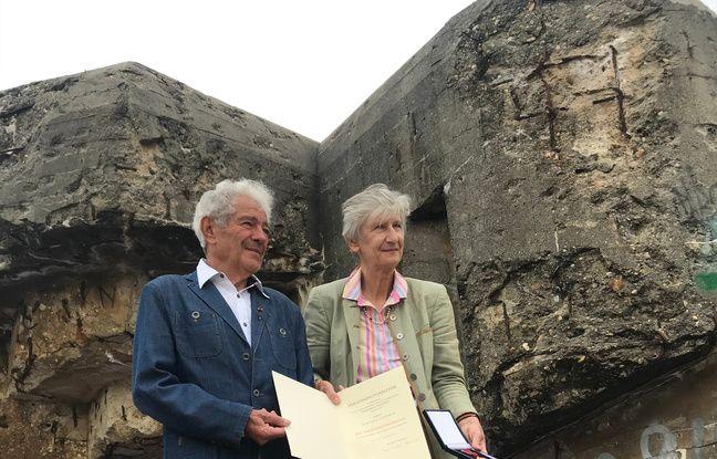 Jean-Paul Lescorce a reçu la médaille de l'Ordre du Mérite d'Allemagne pour son travail de désensablement des bunkers de Soulac-sur-Mer