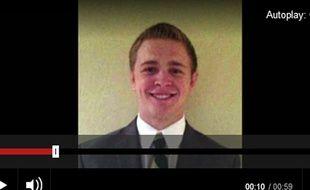 Mason Wells, 19 ans, est l'un des trois missionnaires mormons à avoir été bléssé à l'aéroport de Bruxelles.