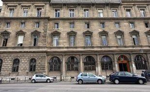 La PJ de Paris, au 36 quai des Orfèvres, le 27 juin 2012