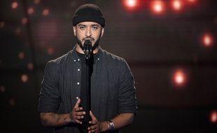Slimane, gagnant de «The Voice» saison 5.