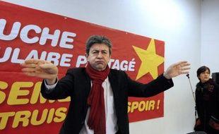 """Le leader du Front de gauche et candidat à la présidentielle, Jean-Luc Mélenchon, a déclaré vendredi à BFMTV qu'il n'irait """"dans aucun gouvernement que celui qu'il dirigerait lui-même""""."""