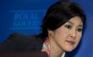 L'ex Première ministre Yingluck Shinawatra le 7 mai 2014 à Bangkok