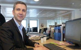 Christophe Najdovski, candidat à la mairie de Paris