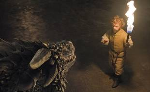 Tyrion fait face aux dragons dans la saison 6 de «Game of Thrones».